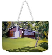 Cottage In Ludow Vermont Weekender Tote Bag