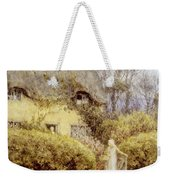 Cottage Near Freshwater  Weekender Tote Bag