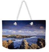 Cottage On Seashore, Ineuran Bay Weekender Tote Bag