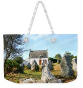 Cottage With Standing Stones Weekender Tote Bag