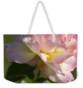 Cotton Candy Pink Peace Rose Weekender Tote Bag