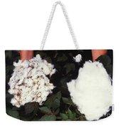 Cotton Comparison Weekender Tote Bag