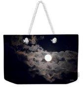 Cotton Moonlight Weekender Tote Bag