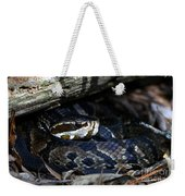 Cotton Mouth Hiding In Gum Swamp Weekender Tote Bag