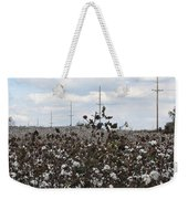 Cotton Ready For Harvest In Alabama Weekender Tote Bag
