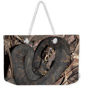 Cottonmouth Weekender Tote Bag