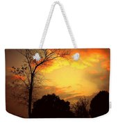Cottonwood Sunset Weekender Tote Bag