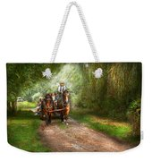 Country - Horse - The Hay Ride  Weekender Tote Bag