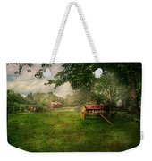 Country - The Crops Almost Ready  Weekender Tote Bag