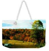 Country Camping Weekender Tote Bag