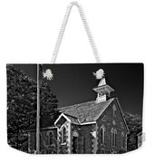 Country Church Monochrome Weekender Tote Bag