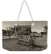 Country Classic Monochrome Weekender Tote Bag