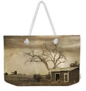 Country Horses Lightning Storm Ne Boulder County Co 76septx Weekender Tote Bag
