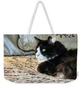 Country Kitty Weekender Tote Bag by Art Dingo