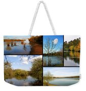 Country Parks Collage Weekender Tote Bag