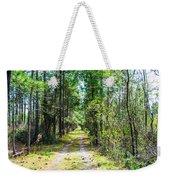 Country Path Weekender Tote Bag
