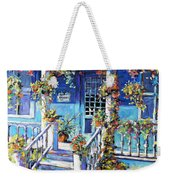 Country Porch And Flowers By Prankearts Weekender Tote Bag