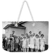 Country School Weekender Tote Bag