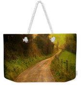 Countryside Road Weekender Tote Bag