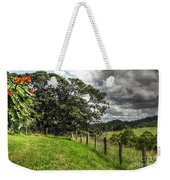 Countryside With Old Fig Tree Weekender Tote Bag by Kaye Menner