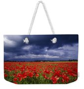 County Kildare, Ireland Poppy Field Weekender Tote Bag