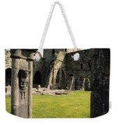 County Kilkenny, Ireland Jerpoint Abbey Weekender Tote Bag