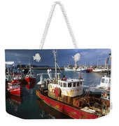 County Waterford, Ireland Fishing Boats Weekender Tote Bag