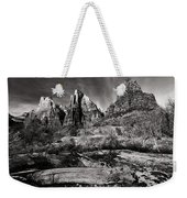 Court Of The Patriarchs - Bw Weekender Tote Bag