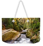 Courthouse River In The Fall 2 Weekender Tote Bag