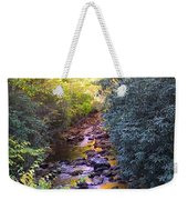 Courthouse River In The Fall 3 Weekender Tote Bag