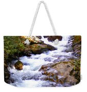 Courthouse River In The Fall Filtered Weekender Tote Bag