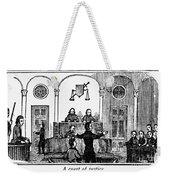Courtroom, 1842 Weekender Tote Bag