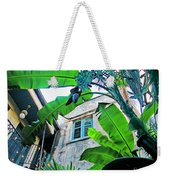 Courtyard Feelings Cafe Nola Weekender Tote Bag