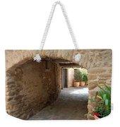 Courtyard In The Village Weekender Tote Bag