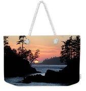 Cove At Sunset Weekender Tote Bag