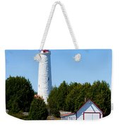 Cove Island Lighthouse Weekender Tote Bag