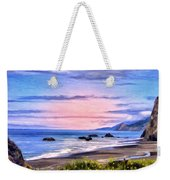 Cove On The Lost Coast Weekender Tote Bag