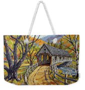 Covered Bridge 04 Weekender Tote Bag