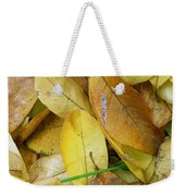 Covering The Green Weekender Tote Bag by Trish Hale