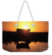 Cow At Sundown Weekender Tote Bag by Picture Partners and Photo Researchers