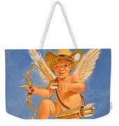Cow Kid Cupid Weekender Tote Bag