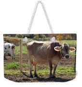 Cow Shadows Weekender Tote Bag