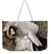 Cow Skull Weekender Tote Bag