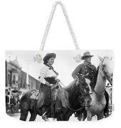 Cowboy And Cowgirl, C1908 Weekender Tote Bag