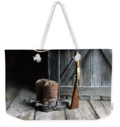 Cowboy Hat Boots Lasso And Rifle Weekender Tote Bag