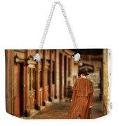 Cowboy In Old West Town Weekender Tote Bag