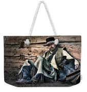 Cowboy Stare-down Weekender Tote Bag
