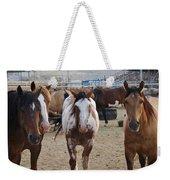 Cowboy Up Weekender Tote Bag