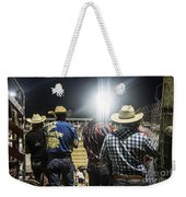 Cowboys At Rodeo Weekender Tote Bag