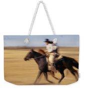 Cowboys Racing Horses Weekender Tote Bag